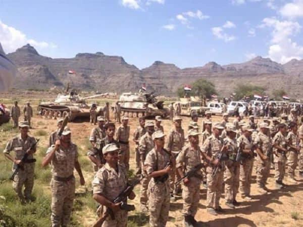 قوات الجيش الوطني تدفع بتعزيزات كبيرة الى الحديدة لتحرير مدينة زبيد