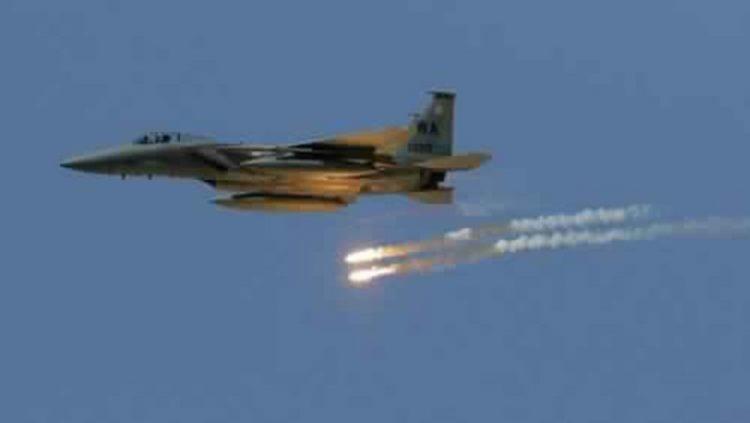 حجة: مصرع قيادات حوثية في غارات جوية لمقاتلات التحالف