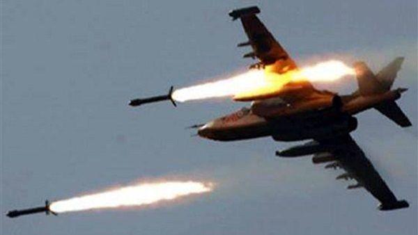 صعدة: التحالف يشن غارات جوية مكثفة على مواقع الحوثيين في كتاف