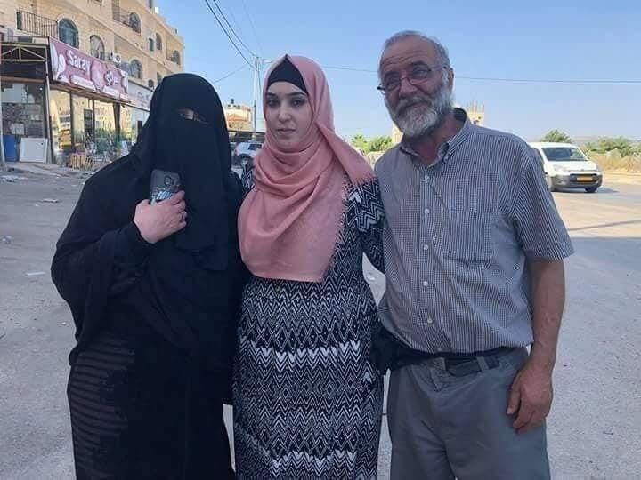 الاحتلال الصهيوني يفرج عن الأسيرة الفلسطينية ياسمين أبو سرور