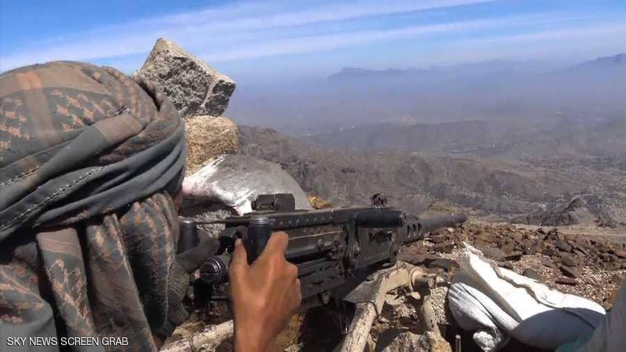 قوات الجيش الوطني تحبط هجوما لمليشيا الحوثي على مواقعها شمال وغرب مدينة تعز