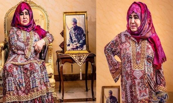 """""""علية غانم"""" أم اسامة بن لادن في أول ظهور لها من السعودية.. ماذا قالت عن ابنها؟"""