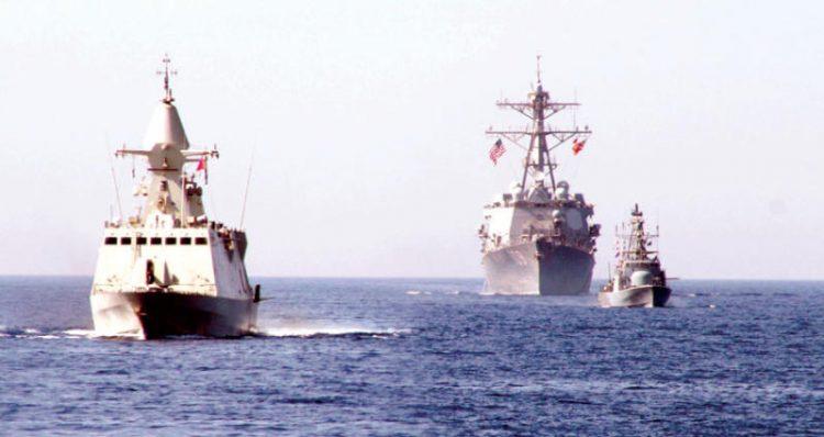 """إختتام فعاليات التدريبات العسكرية الـ """"مصرية ـ سعودية ـ إماراتية ـ أميركية"""" في البحر الأحمر"""