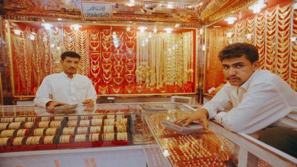 اسعار الذهب في اليمن ترتفع اليوم السبت 23-2-2019