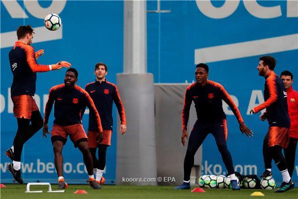 برشلونة يعلن رحيل ياري مينا إلى إيفرتون