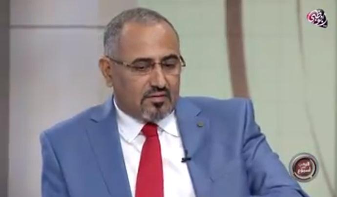رئيس مجلس الانفصال يعود الى عدن.. ومؤشرات عن قيادته لمحاولة انقلاب ثانية