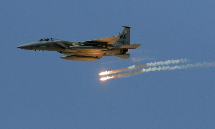 مصرع وإصابة أكثر من 18 حوثيا بغارات لطيران التحالف العربي في صرواح