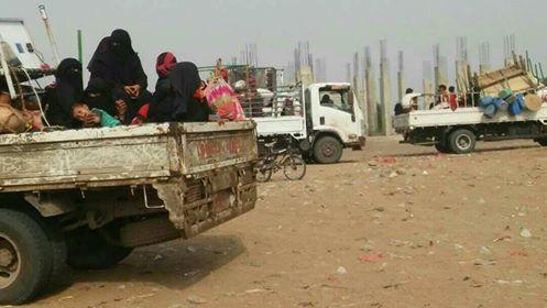 مناشدات إنسانية يطلقها ناشطون في الحديدة تطالب بإغاثة النازحين من مدينة الدريهمي