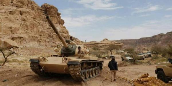 قوات الجيش الوطني تقتحم مركز مديرية باقم وتسيطر على أجزاء واسعة