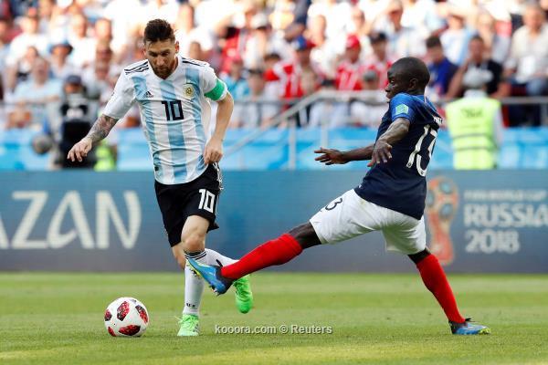 رسميًا.. إستبعاد ميسي من قائمة الأرجنتين
