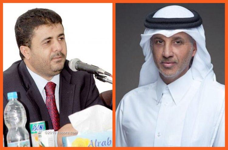 الشيخ احمد العيسي يتلقى تهنئة من رئيس اتحاد كأس الخليج العربي لكرة القدم بمناسبة عيد الاضحى