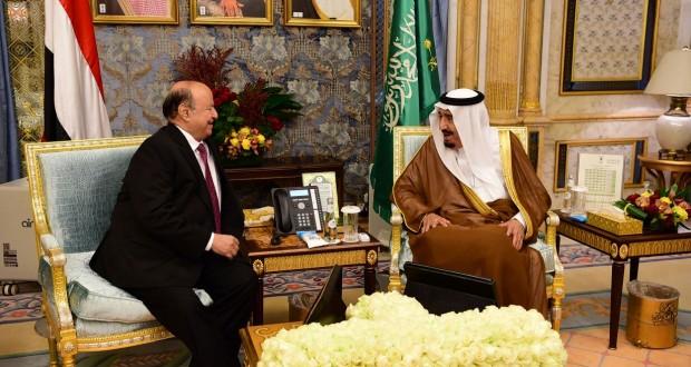 الملك سلمان يبعث برقية للرئيس هادي (تفاصيل)