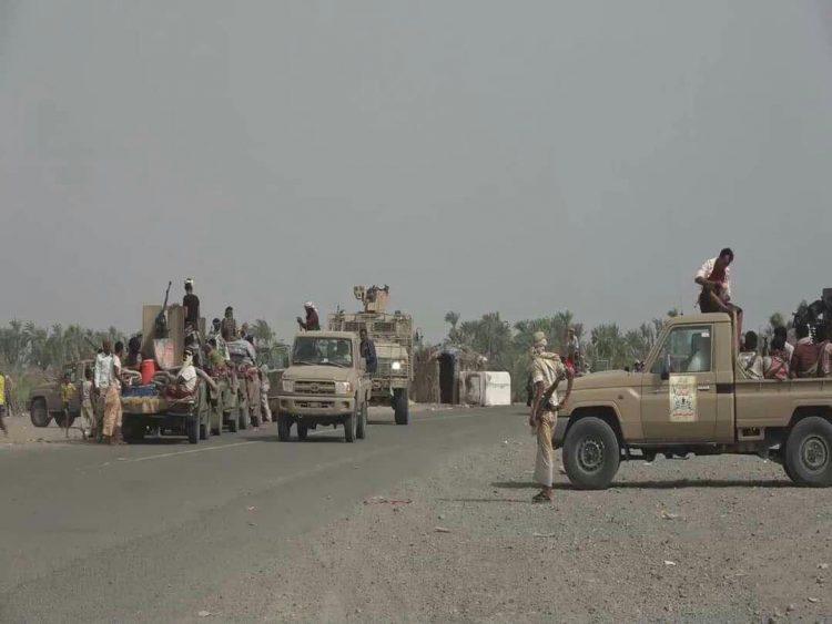 مليشيات الحوثي تدفع بتعزيزات إلى جبهات الحديدة.. وألوية العمالقة والجيش الوطني تؤكد استعدادها لأي هجوم