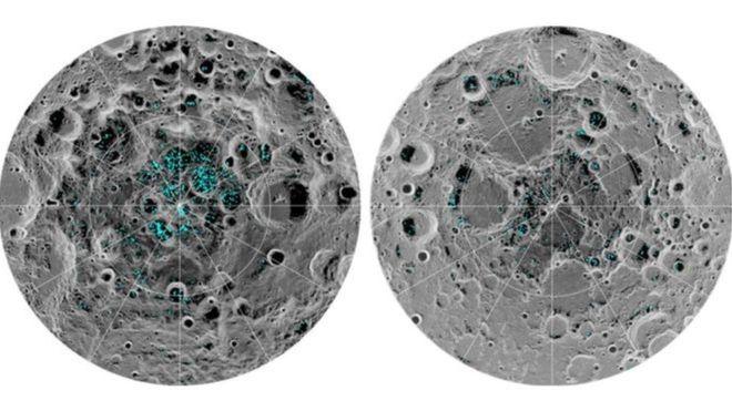 كشف علمي.. الجليد المائي على سطح القمر يبشر بإمكانية الحياة خارج الأرض