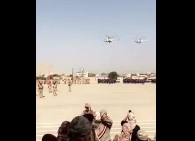 فيديو .. عرض عسكري مهيب للجيش الوطني بحضرموت بمشاركة الطيران الحربي