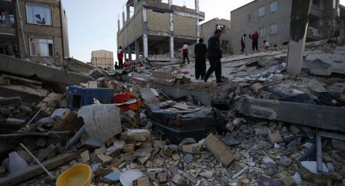 زلزال قوي يضرب حدود العراق وايران