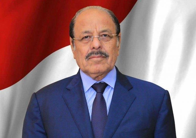 نائب رئيس الجمهورية يبعث برقية عزاء في وفاة الداعية عبدالرحمن بن عبدالله باعباد