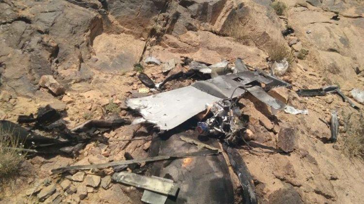 الجيش الوطني يسقط طائرة تجسس تابعة لمليشيا الحوثي