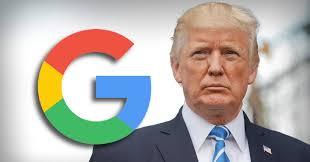 دونالد ترامب يتهم جوجل بتزوير نتائج البحث حوله