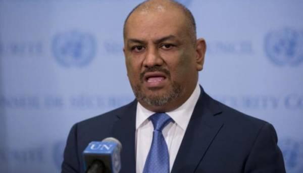 """وزير الخارجية """"اليماني"""" يتهم المبعوث الاممي بالتواطئ مع الحوثيين"""