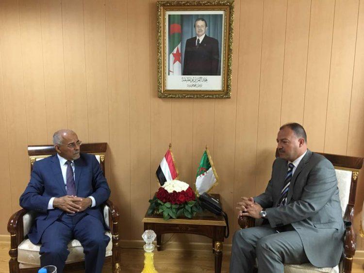 اليمن تتفق مع الجزائر على مذكرة تعاون في المجال الرياضي