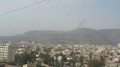طيران التحالف يقصف مواقع وتجمعات لمليشيا الحوثي شمال صنعاء