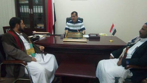 العقيلي يلتقي محافظ صعدة ويطلع على المستجدات العسكرية في المحافظة