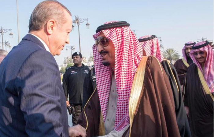 تفاصيل الرسائل التي بعثها الملك سلمان وولي عهده إلى الرئيس التركي أردوغان