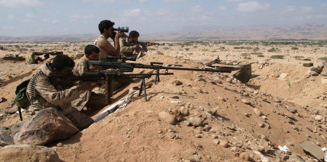 """الجيش الوطني يقترب مكن منطقة """"المزرق"""" باتجاه صعدة"""