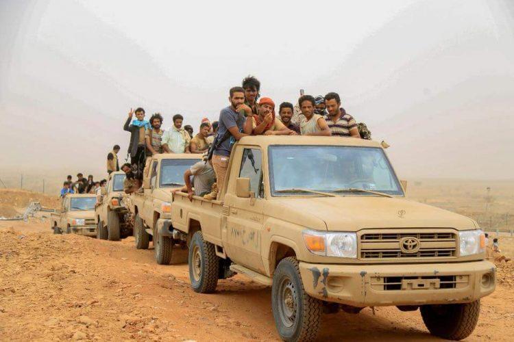 تعز.. الجيش الوطني يسيطر على مواقع جديدة بمديرية حيفان