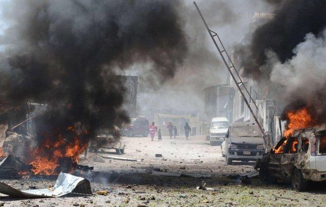انفجار ضخم يهز العاصمة الصومالية مقديشو