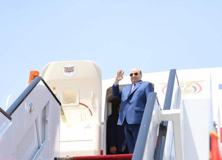 رئيس الجمهورية يغادر الرياض إلى أمريكا