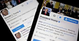 تويتر: الحظر قد يطال الرئيس دونالد ترامب أيضًا