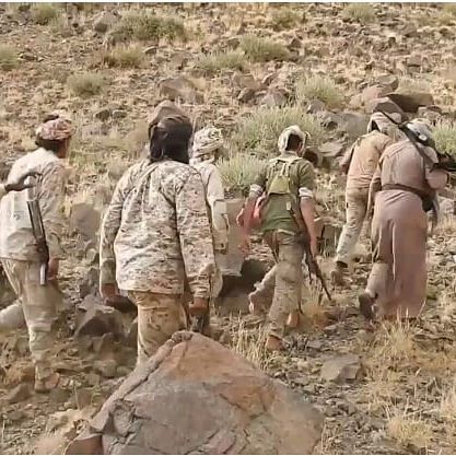 قوات الجيش الوطني تتقدم في باقم بصعدة وتسيطر على مواقع جديدة وتفشل محاولة تسلل للمليشيات