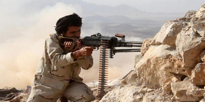 """البيضاء.. قوات الجيش الوطني تكبد المليشيات خسائر فادحة بصدها محاولة تسلل """"انتحارية"""" في جبهة الملاجم الصحوة"""