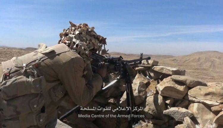 قوات الجيش الوطني تحبط محاولة تسلل لمليشيا الحوثي في باقم ومصرع عدد من عناصر المليشيات