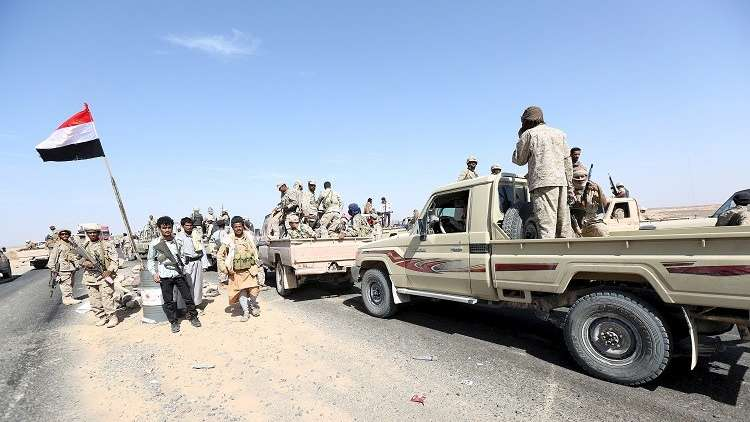 """The """"Giants"""" forces slap the leaders of """"Southern Transitional Council"""""""