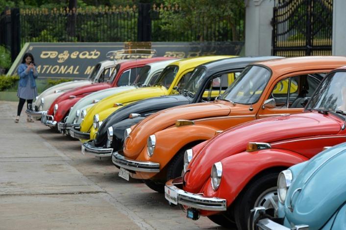 """شركة """"فولكسفاغن"""" الألمانية تعلن أنها ستتوقف عن إنتاج سيارة """"بيتل"""" الشهيرة في العام 2019"""