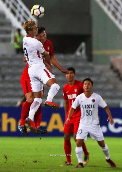 كاشيما يتأهل إلى نصف نهائي دوري أبطال آسيا