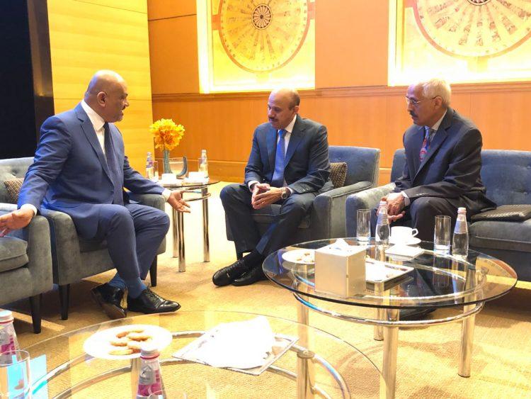 اليماني يلتقي الأمين العام لمجلس التعاون لدول الخليج العربية