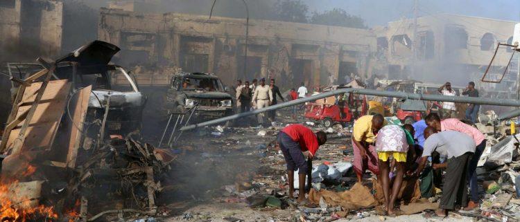 تفجيرات مقديشو تسفر عن مقتل شخص واحد وإصابة آخر