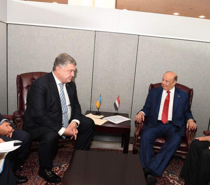 رئيس الجمهورية يبحث مع نظيره الأوكراني تطوير التعاون الثنائي بين البلدين