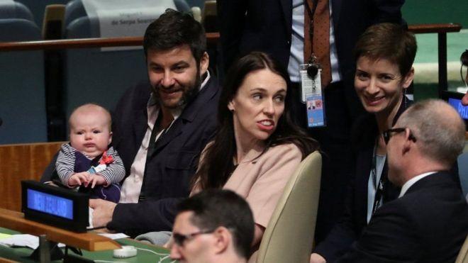 شاهد.. أول طفل في العالم يحضر اجتماعات الامم المتحدة
