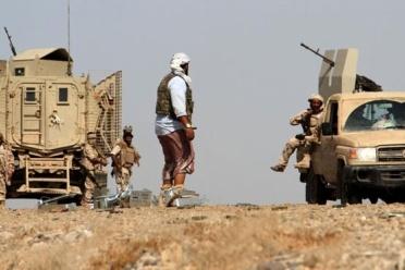 الوية العمالقة تنفذ عملية نوعية مستهدفة ثكنات ومواقع وتجمعات مليشيا الحوثي شرق مديرية التحيتا