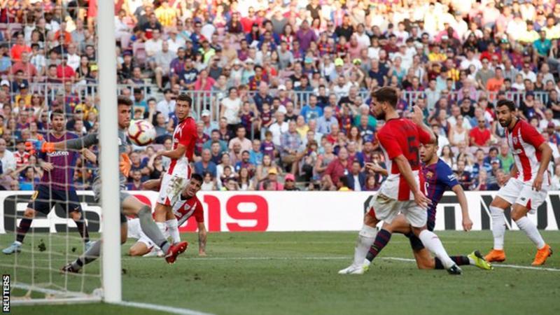 برشلونة يخسر نقطتين على ارضه امام بلباو
