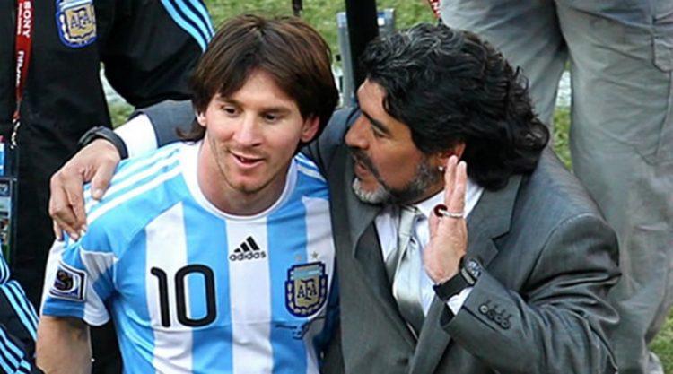 لماذا نصح مارادونا ميسي باعتزال اللعب دولياً