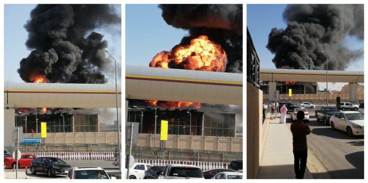 تفاصيل حريق اندلع في محطة كهرباء بالعاصمة السعودية الرياض