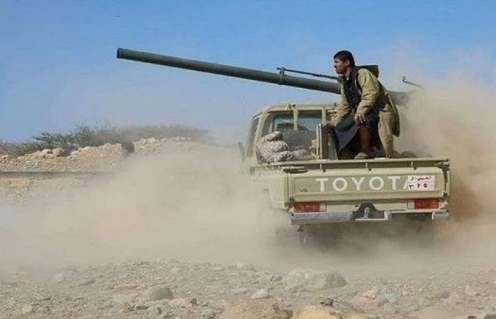مصرع وجرح عدد من عناصر المليشيات جراء استهدف مدفعية الجيش لمواقعهم في الملاجم