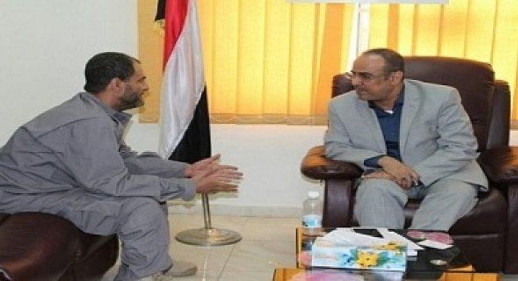 اجتماع سري بين وزير الداخلية ومدير امن عدن