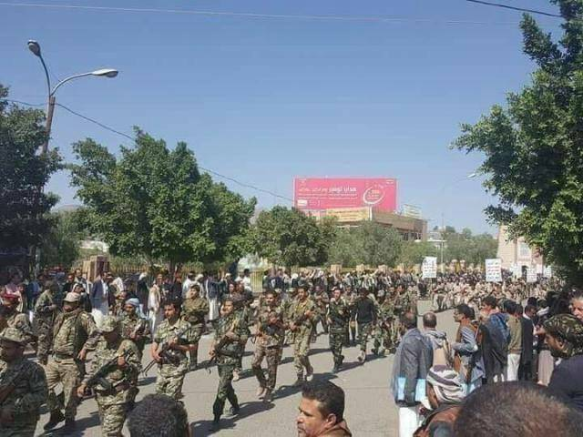 Houthi rebels kidnap more than 50 student –most of them are girls – from Sanaa Univ.